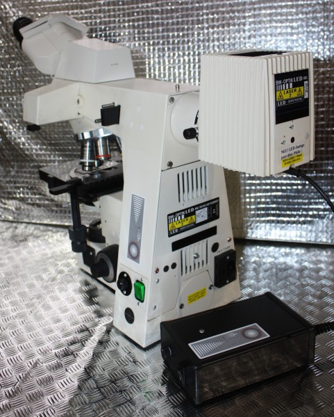 LED Fluoreszenz für ältere 50 Watt HBO Gehäuse