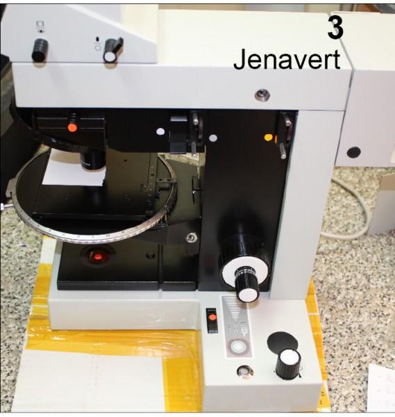 Jenavert Mikroskop CZJ Umbau auf LED