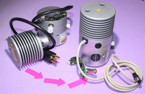 Reparatur VIS-LED mit Kollektor