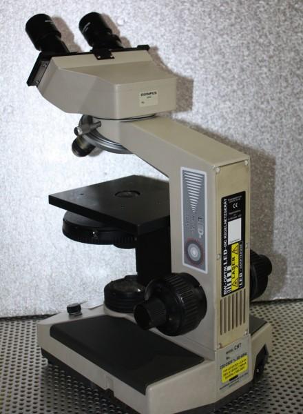 LED Einbau Olympus CH2 Mikroskop
