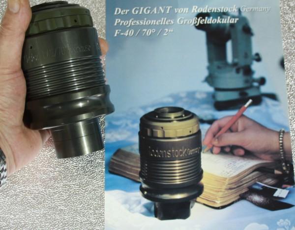 """Großfeldokular Erfle 2 """""""