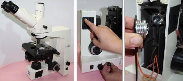 Axiolab Zeiss - LED Einbau