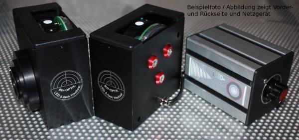 LED 5-fach Wechsler für Fluoreszenzmikroskope