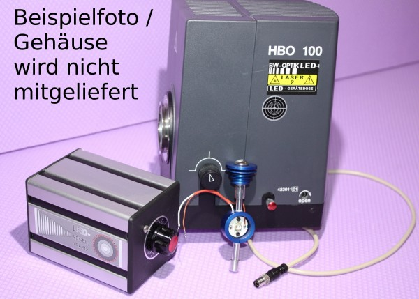 LED Umbau Fluoreszenz Zeiss HBO 100 neuerer Generation