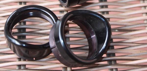 1 Paar Augenmuscheln für Okulare P10x18/Brille