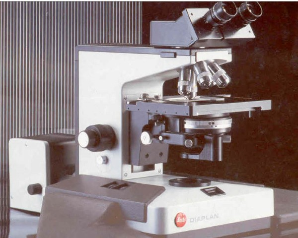LED Fluoreszenz Diaplan Leitz Mikroskop Umbau