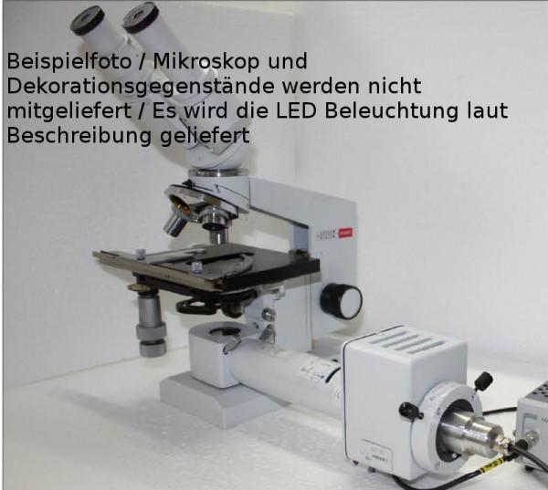 LED externe Köhlerbeleuchtung Biolam / Bresser/ Lomo / BW-Optik