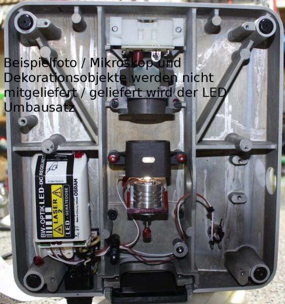 LED Einbau Dialux Leitz Mikroskop