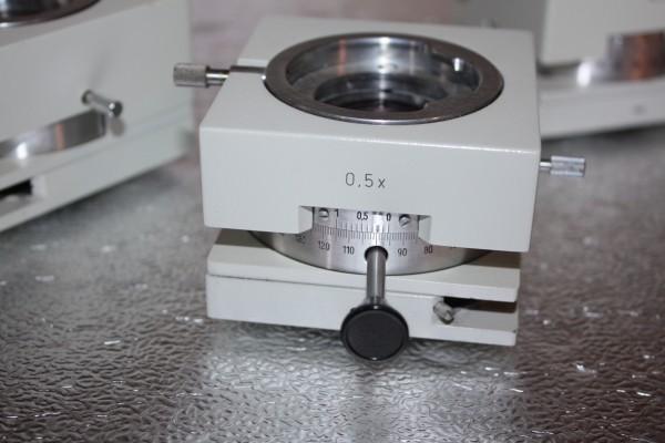 Analysator für Mikroskop Jenalab mit Ringblendenaufnahme - ohne Lambdaschieber
